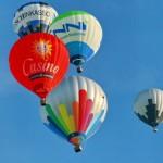 Heißluftballon-Event
